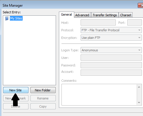 FileZilla Setup Guide Step 2
