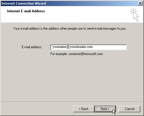 Outlook Express Setup Guide Step 4