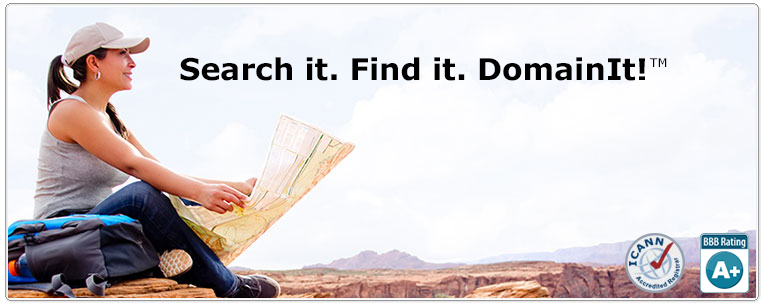 Find it. Search it. Domain It.