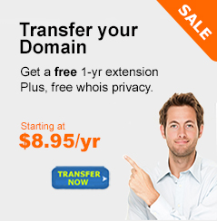 Transfer your Domain