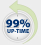 99% Up-Time Guarantee